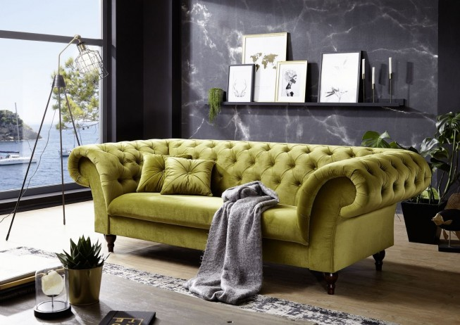 Pohovka 3M green Chesterfield Preston (11)