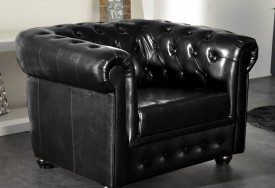 Křeslo Chesterfield Bis 1M Antique Black