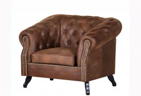 Křeslo Chesterfield Bristol 1M Tabaco 13