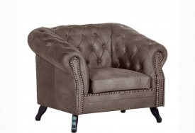 Křeslo Chesterfield Bristol 1M Tabaco 16
