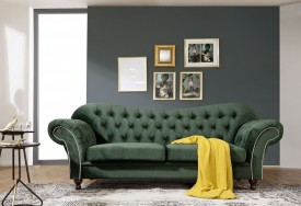 Pohovka 3M Sheffield Dark Green