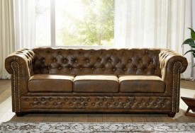 Pohovka 3M brown Chesterfield Oxford (4)