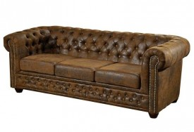 Pohovka 3M brown Chesterfield Oxford (6)